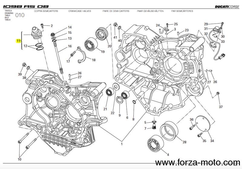 ducati breather valve for crankcase - 5