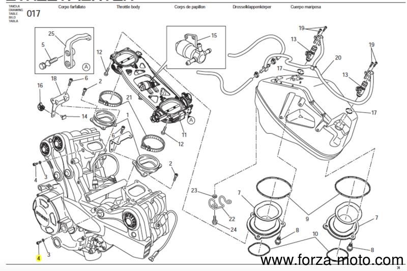 Ducati Kit 3 X Screw Tceir M6x8 Din7084 8 8 Ststr008 77350618b