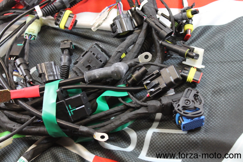 ducati complete wiring loom for 1198s 51016711b ducati spare rh forza moto com ducati monster wiring loom Ignition Wire Looms