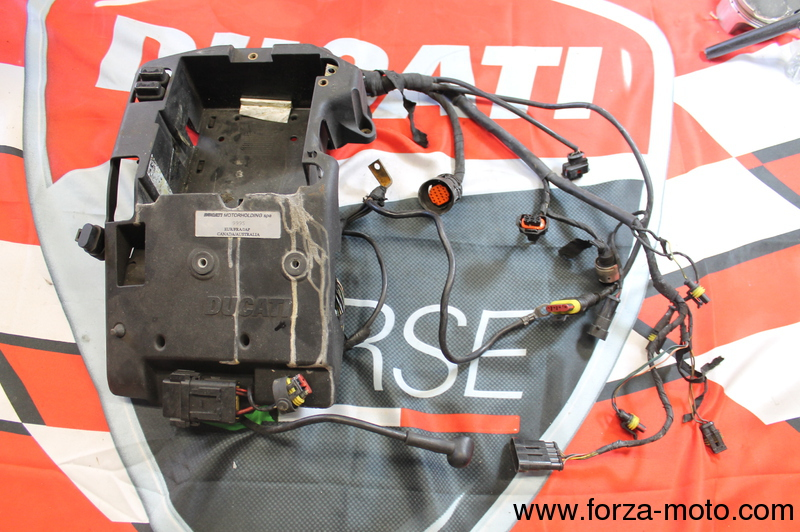 ducati main wiring loom harness for 999s 2003 2004 82914191a rh forza moto com Spark Plug Wire Looms Cloth Wire Loom