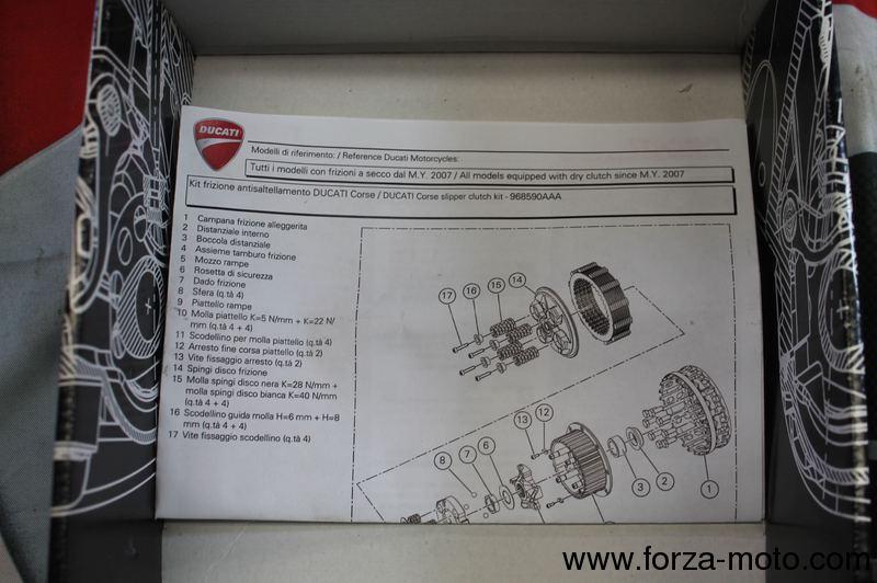 Ducati Corse Slipper Clutch Springs Racing For R - Ducati 1098r wiring harness