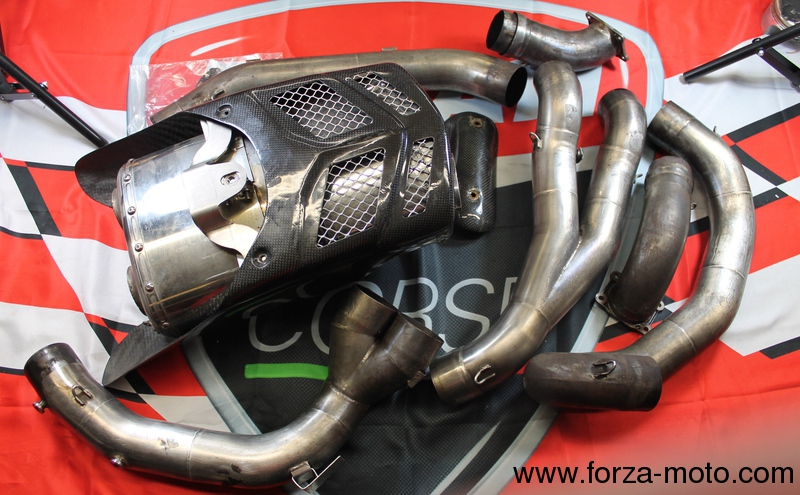 ducati hpe high performance full exhaust auspuff 54mm for 749r