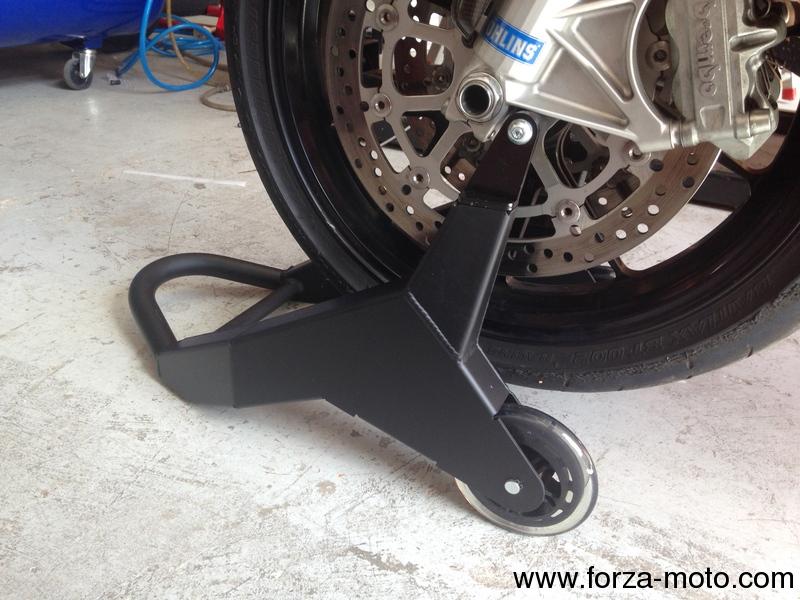 Ducati Performance Aluminium box type front stand 2